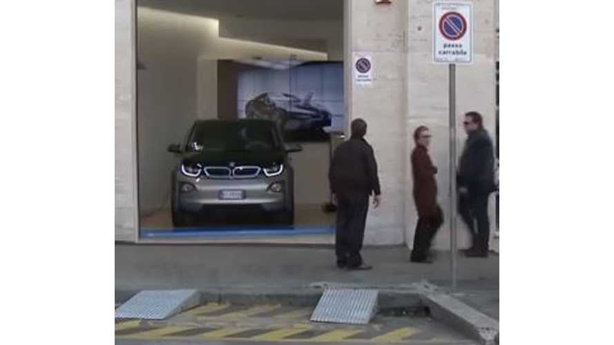 When In Rome - BMW i3 Looks To Take Sales Lead In Italy For 2014 (video)