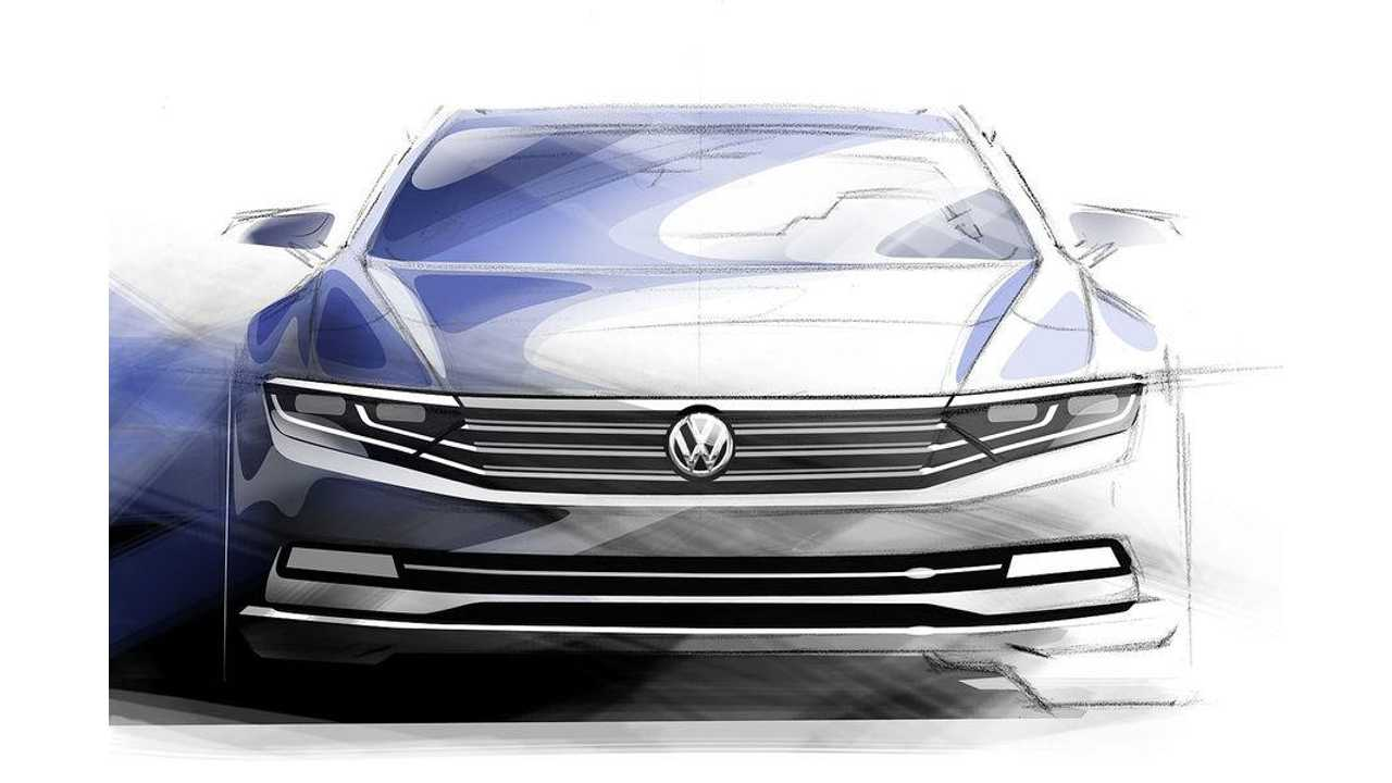 All-New 2015 Volkswagen Passat Plug-In Hybrid To Debut This October