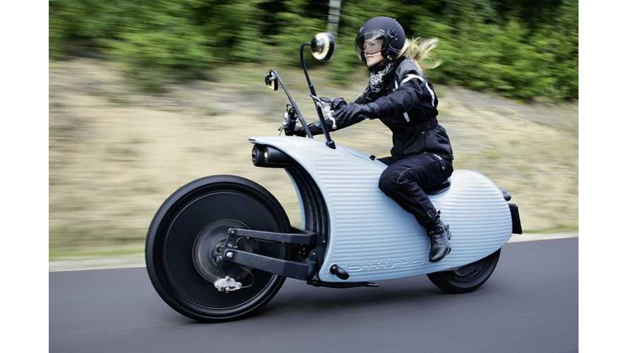 Johammer Electric Motorcycle Looks Like A Snail, Yet Offers 124 Miles Of Range