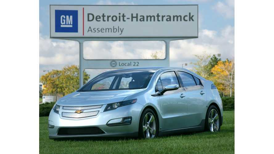 To Prep For Next-Gen Chevy Volt, General Motors Will Invest $450 Million, Add 1,400 Jobs
