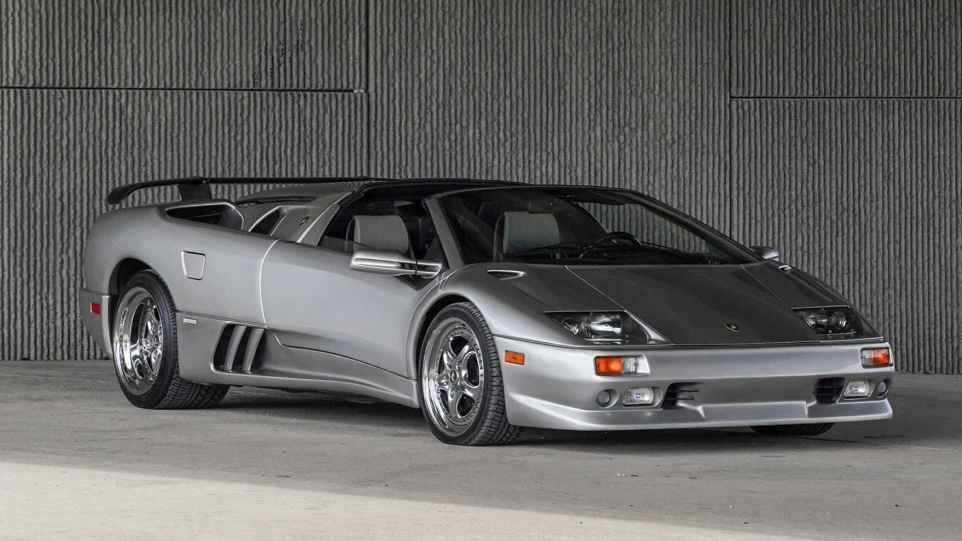 "[""Lamborghini Diablo VT Millennium Roadster Bring a Trailer""]"