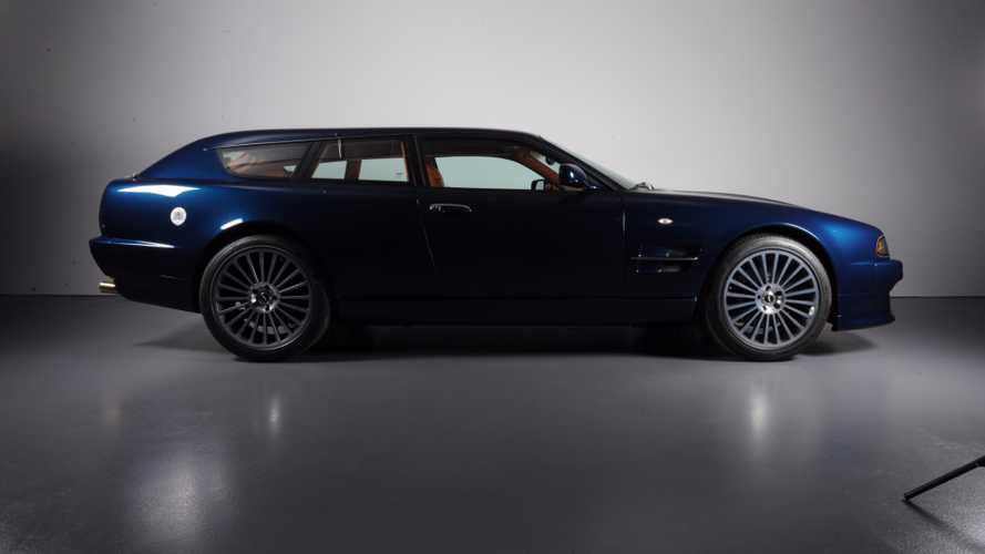 One-Off Aston Martin V8 Shooting Brake Is Pure Practical Luxury