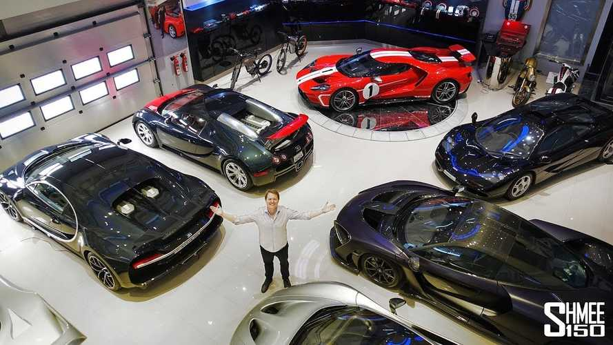 Incredible supercar collection has almost everything important