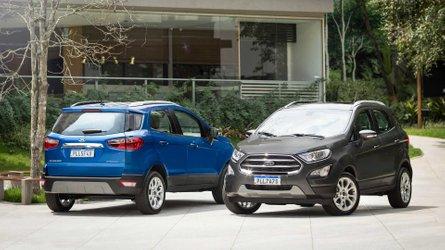 Ford EcoSport sem estepe fica R$ 3 mil mais barato em abril