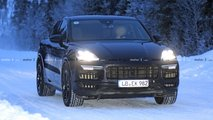 Porsche Cayenne Coupe Turbo spy photos