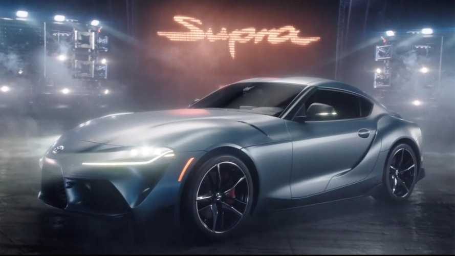 Watch 2020 Toyota Supra's Pinball-Themed Super Bowl Ad