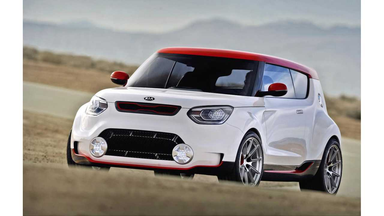 Kia Track'ster Concept Supposedly Closely Resembles a 2014 Kia Soul EV