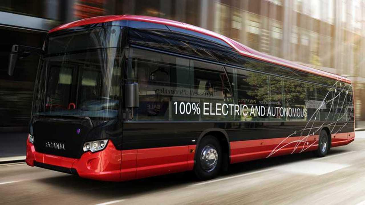 Scania 100% electric and autonomous