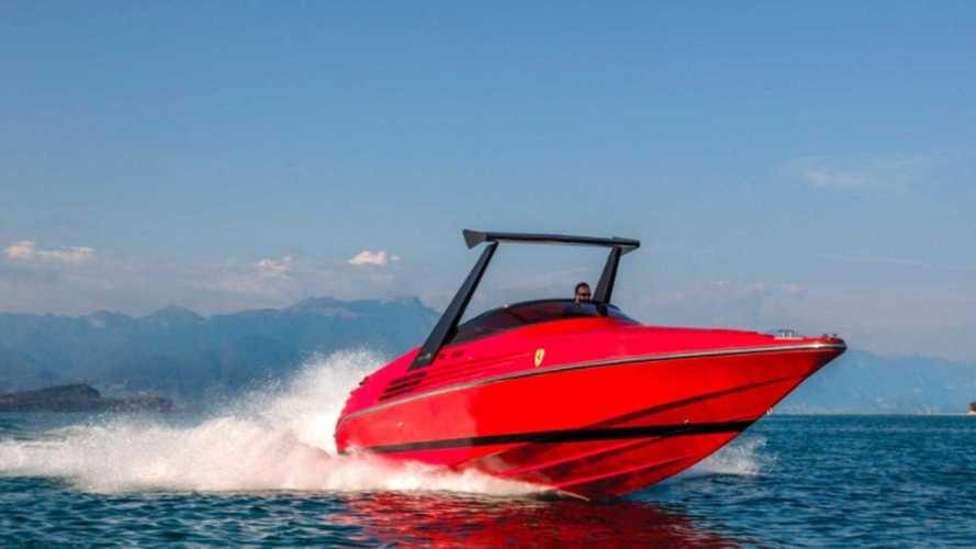Ferrari Riva boat