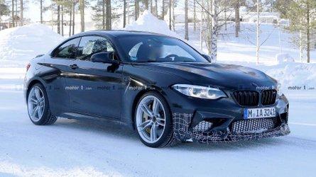 [GÜNCELLEME] BMW M2 CS casus kameralara yakından yansımış