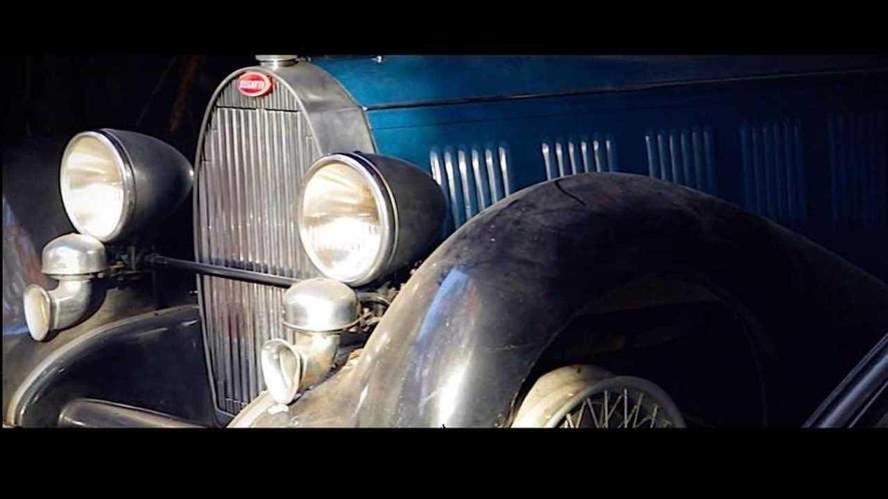 Bugatti sortie de grange Arcturial