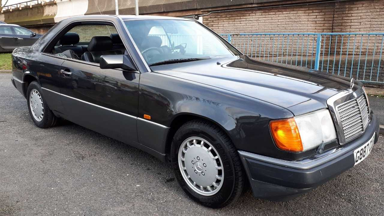 1990 Mercedes-Benz 300 CE Coupe – current bid at $3,360