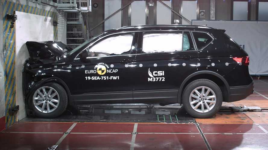 Seat Tarraco, Euro NCAP crash test