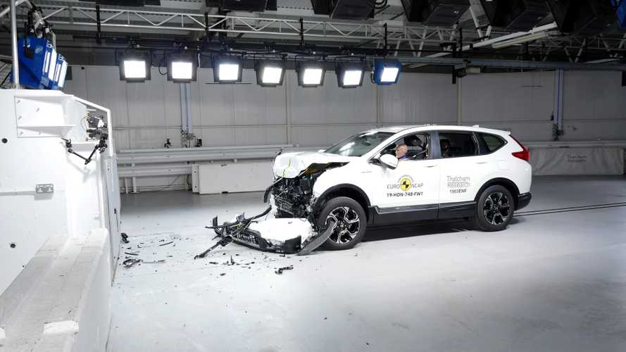 G-Class, CR-V and Tarraco score top marks in Euro NCAP crash test