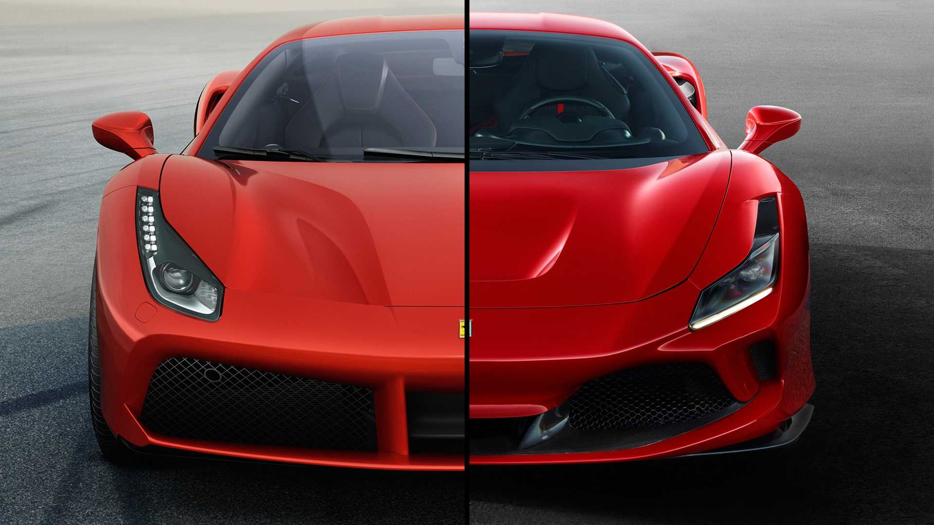 2020 Ferrari F8 Tributo See The Changes Side By Side