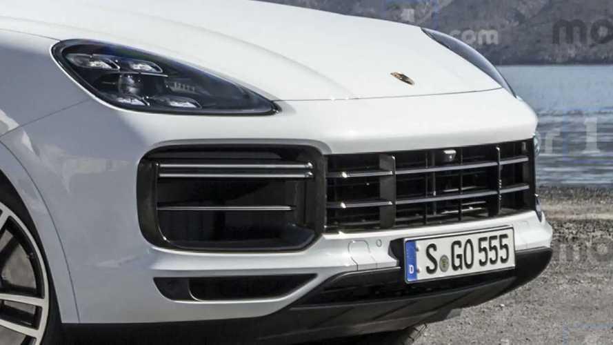 2020 Porsche Cayenne Coupe render
