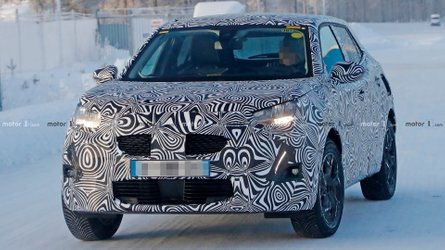 Is This A Prototype Of Peugeot's New 2008 Crossover?
