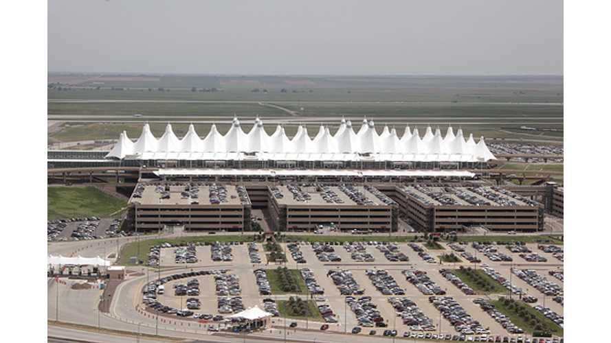 Denver International Airport Celebrates Opening of 10 Free-to-Use Level 1 Charging Stations