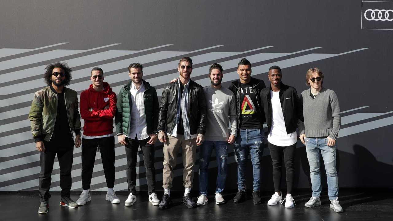 Los Audi del Real Madrid CF, para la temporada 2019