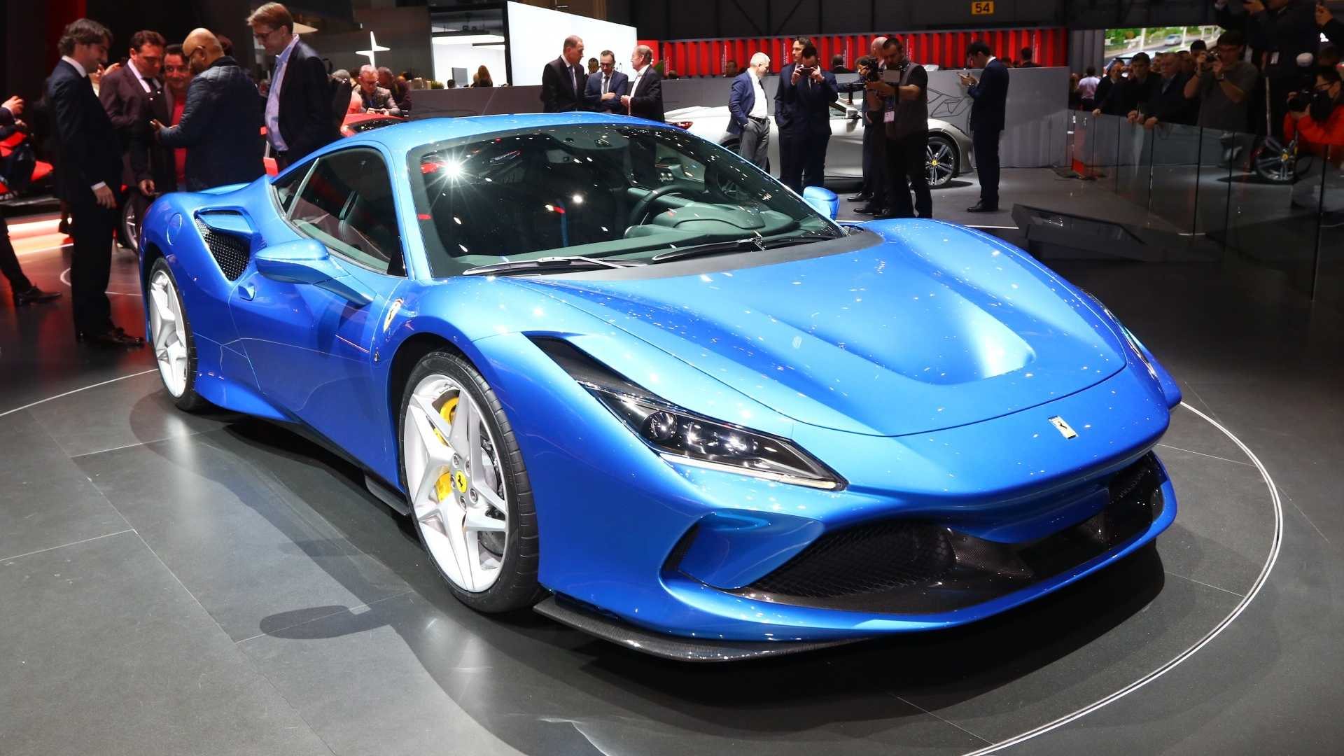 Ferrari F8 Tributo Arrives In Geneva With Pista Matching Power