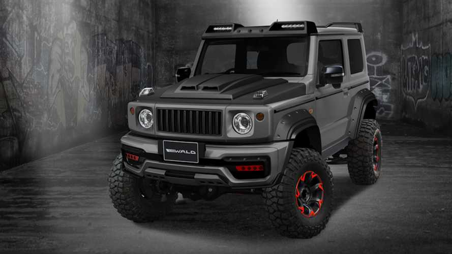 Suzuki Jimny Black Bison Edition looks devilishly good