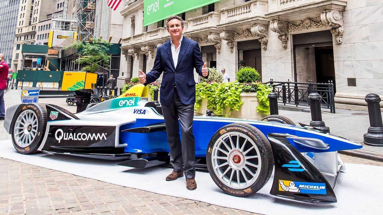 Alejandro Agag y la Formula E