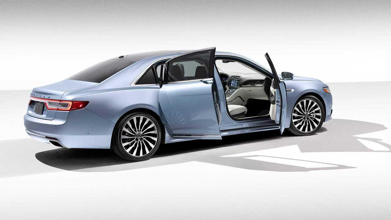 Lincoln Continental'in 80.Yılına Özel Coach Door Edition Versiyonu