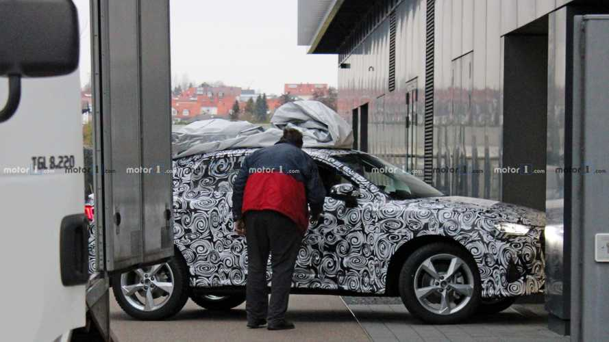 2020 Audi Q4 new spy photos