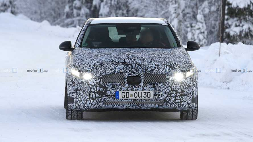 2021 Mercedes C-Class Saloon new spy photos