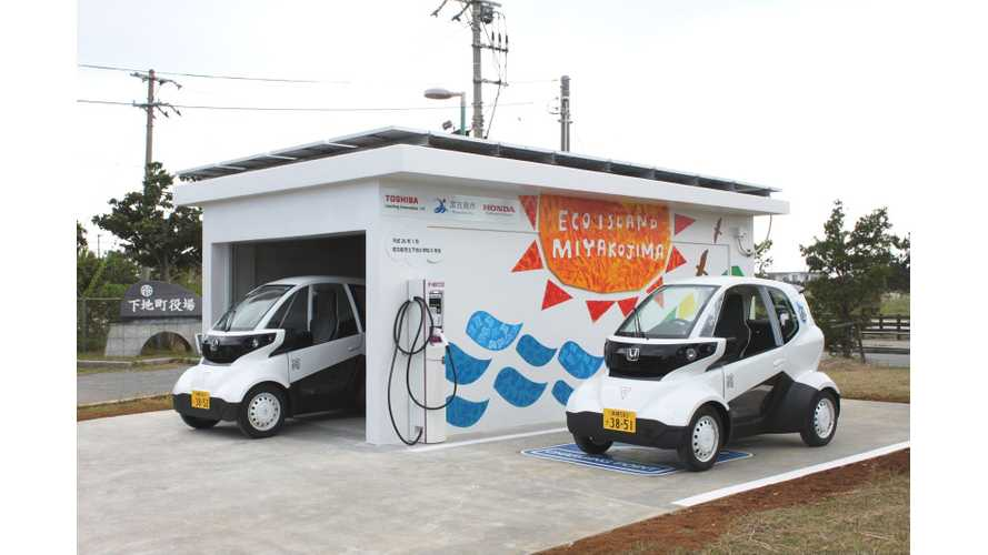 Honda Now Testing MC-β Micro EV Powered by Solar