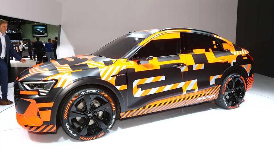 Audi e-tron Sportback: Getarnte Premiere in Genf