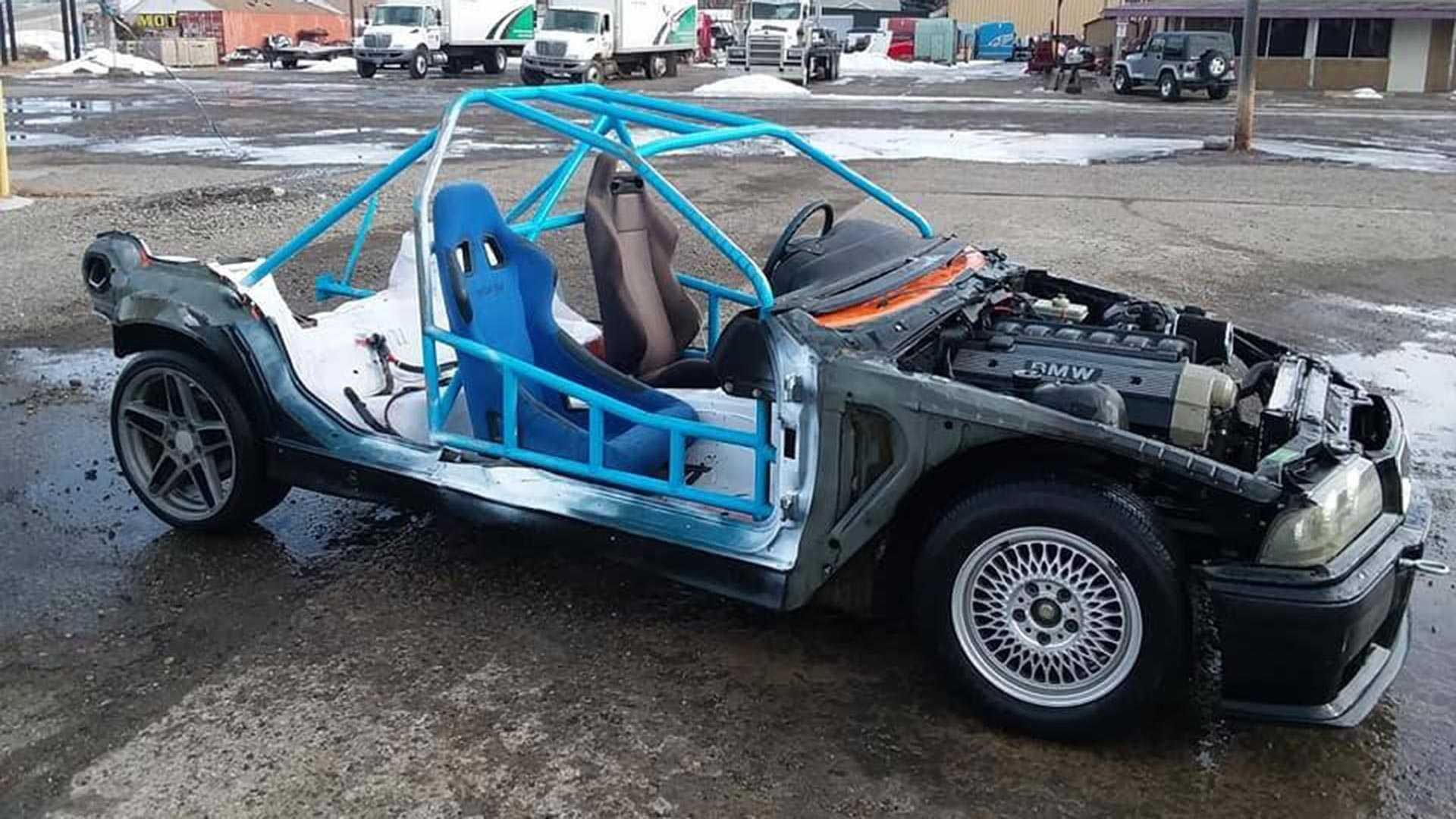 Aptly Named BMW 'Death Cart' Is Suicide On Wheels for $2,500