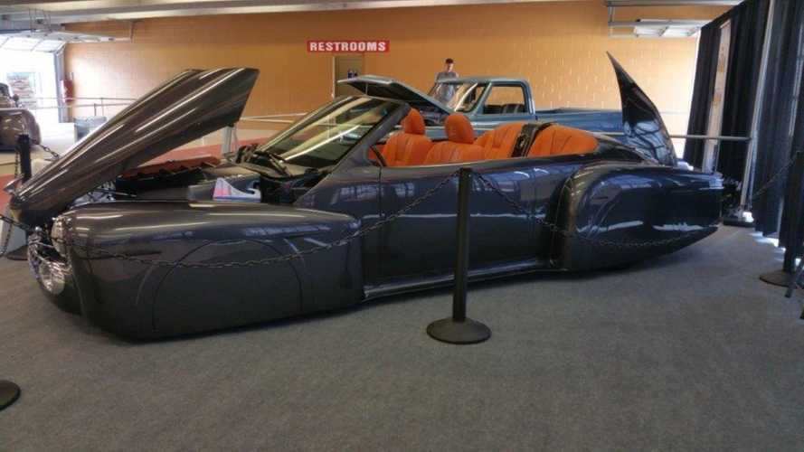 This 1947 Lincoln Continental Custom Boattail Blends Old And New