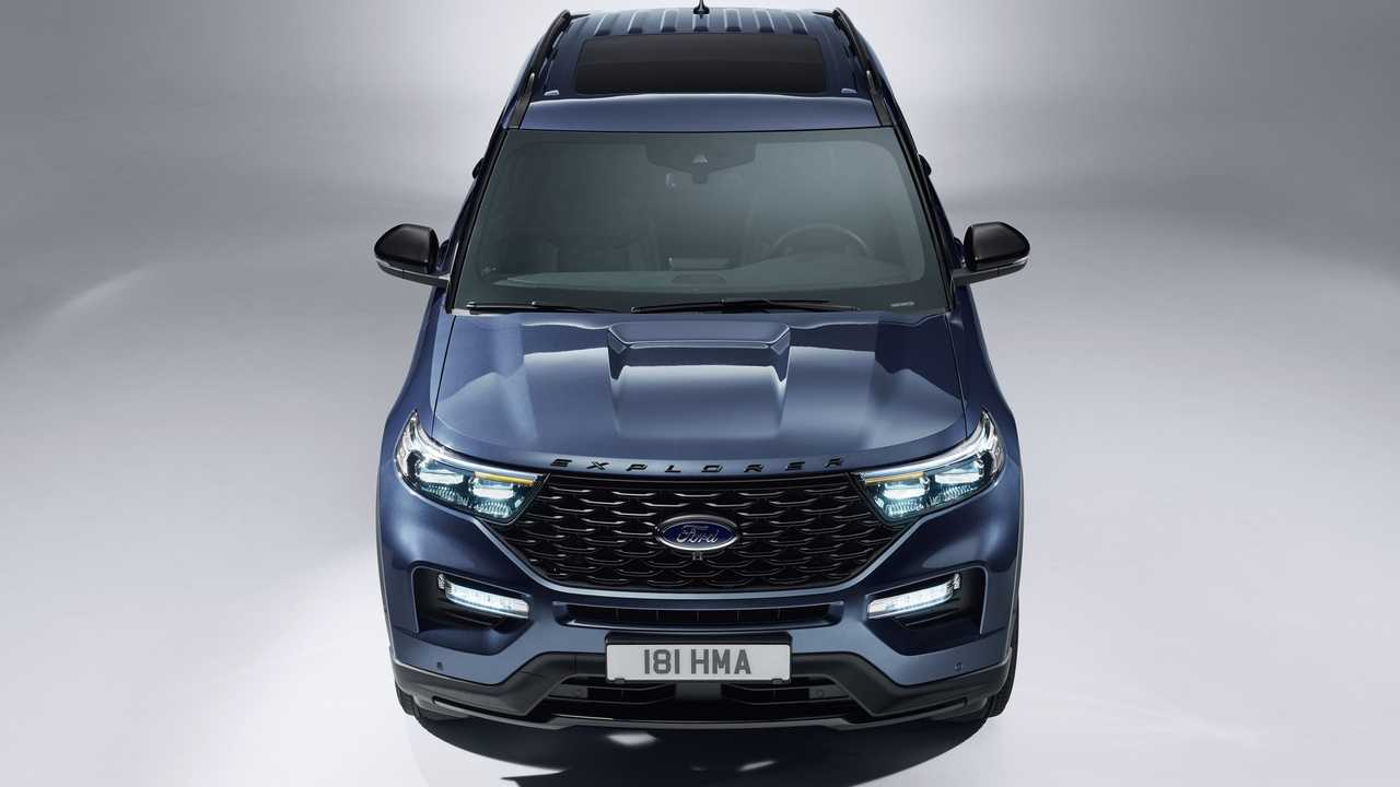 2020 Ford Explorer PHEV (Euro-spec)