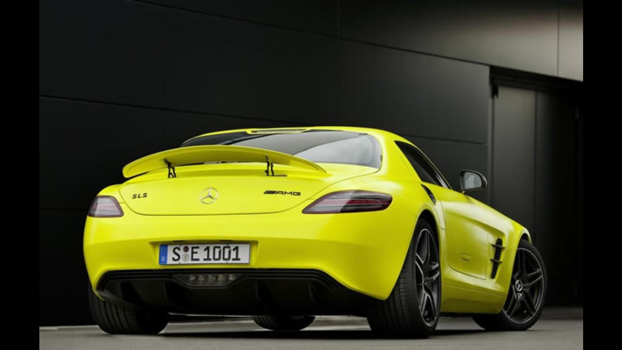 Mercedes revela detalhes técnicos do SLS AMG E-Cell