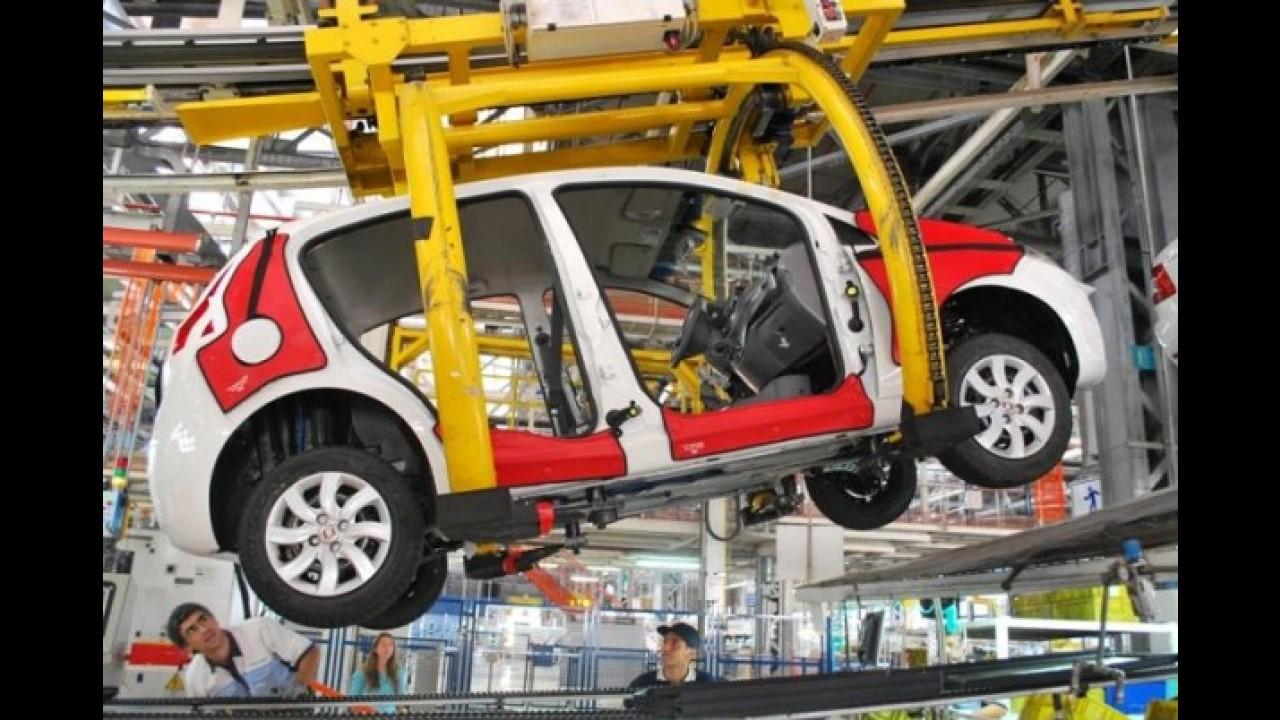 Fiat inicia produção da nova geração do Palio na Argentina