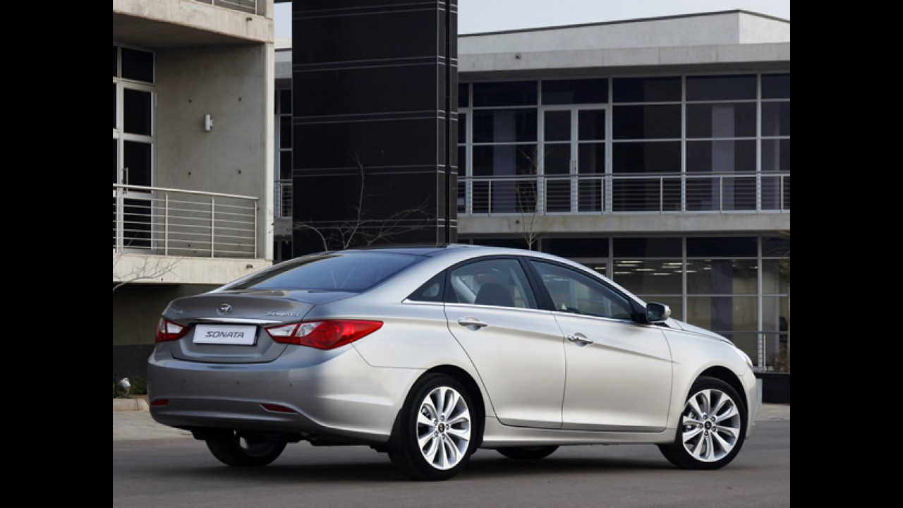 Hyundai Sonata também deixa de ser oferecido no Brasil