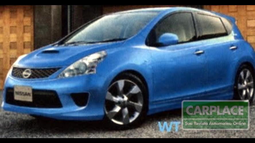Novo Nissan Tiida 2012?