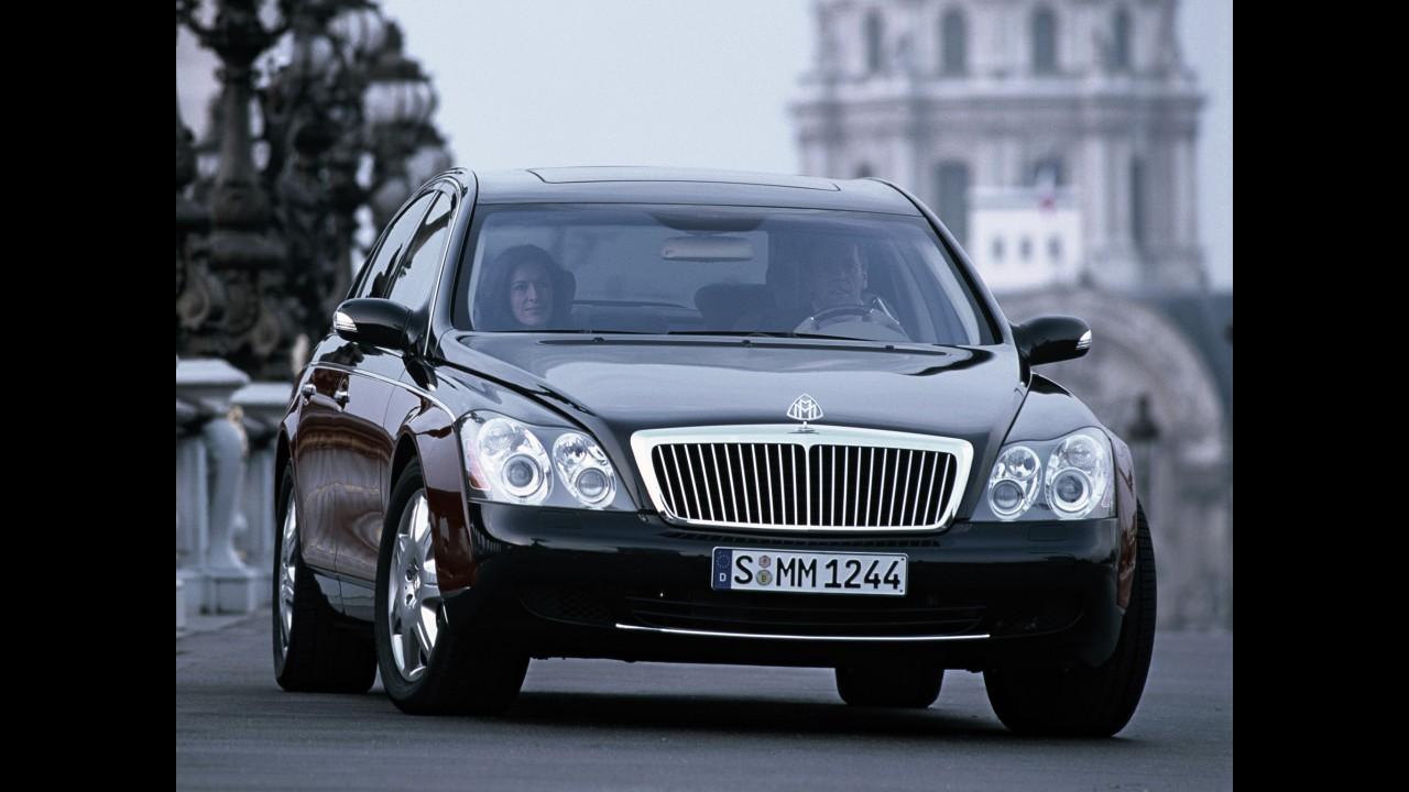Daimler decreta oficialmente o fim da Maybach
