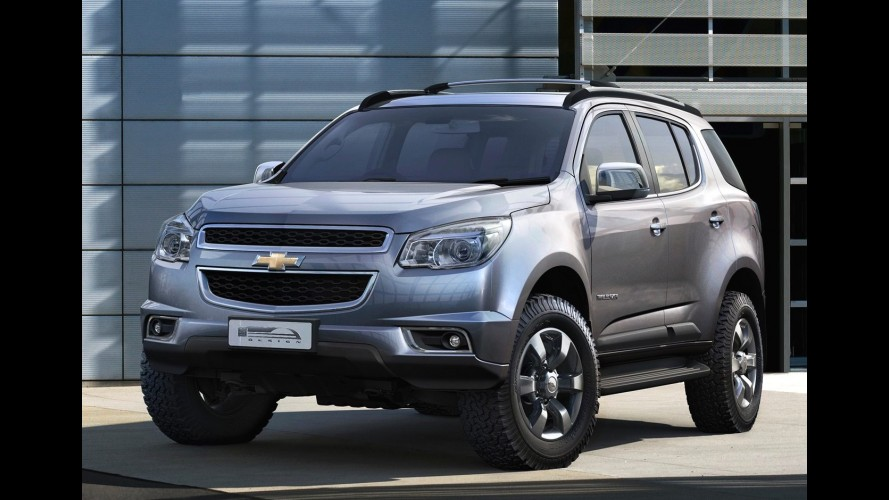 Chevrolet Trailblazer pode ser lançada nos Estados Unidos em 2014