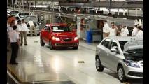 Funcionários da GM fazem greve na fábrica de Onix, Prisma e Celta