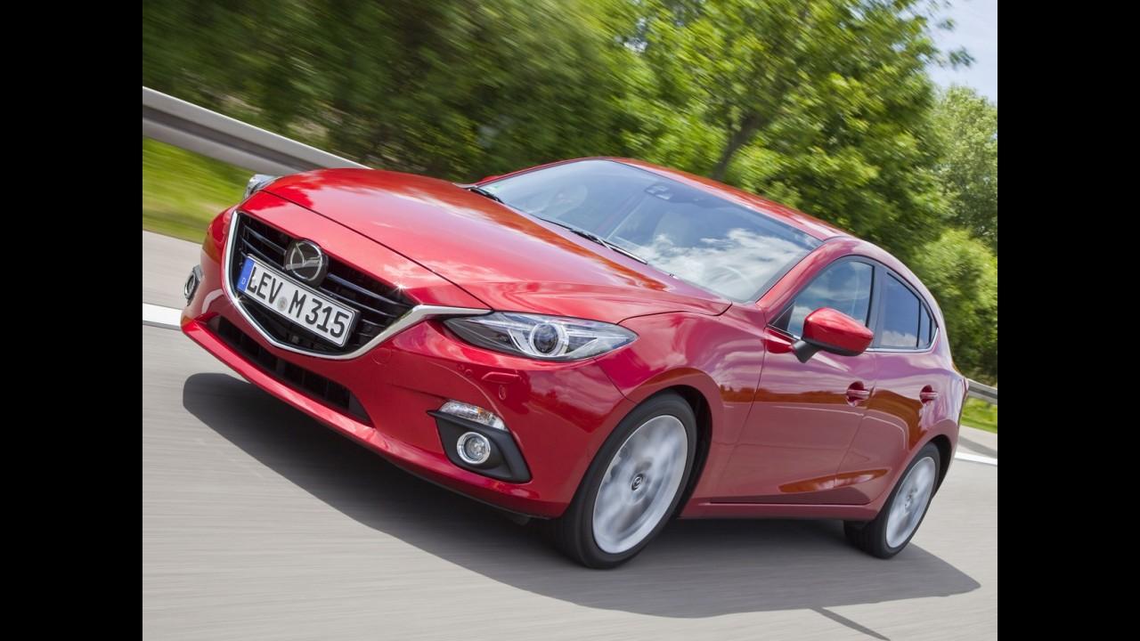 Mazda3 vai do Japão à Alemanha para provar eficiência do SkyActive