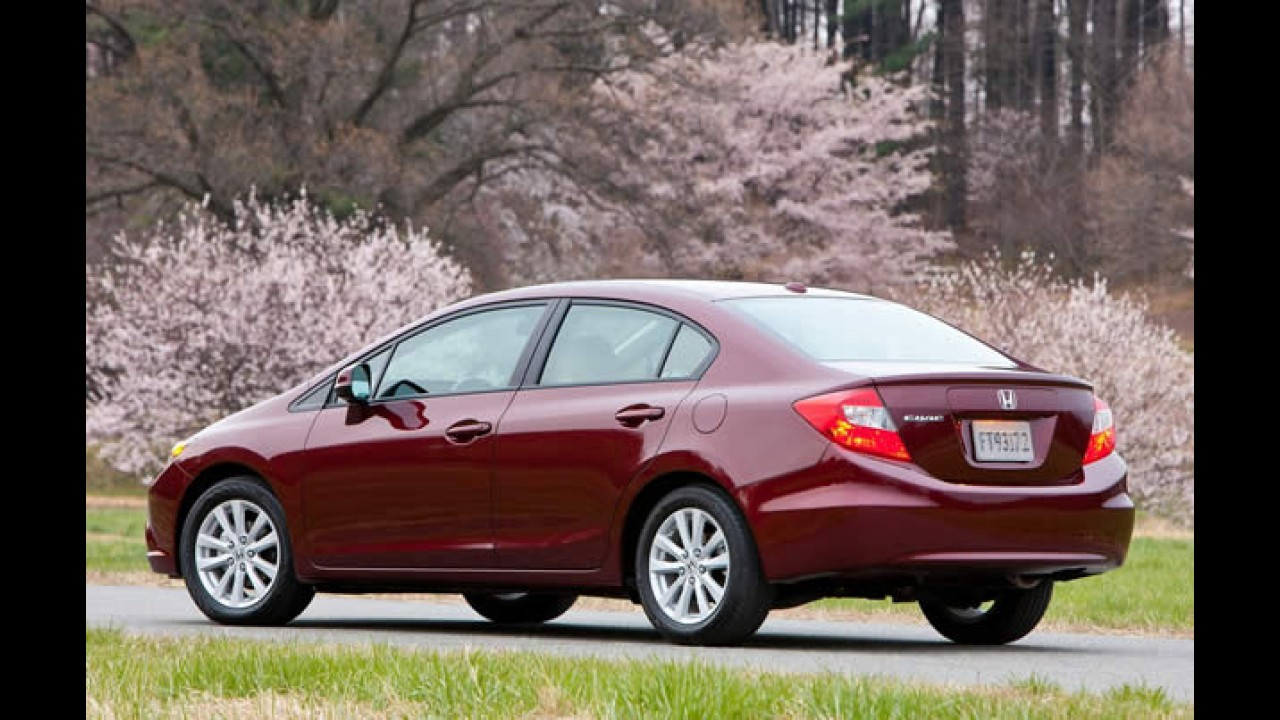 Novo Honda Civic 2012 já tem recall nos EUA por risco de incêndio