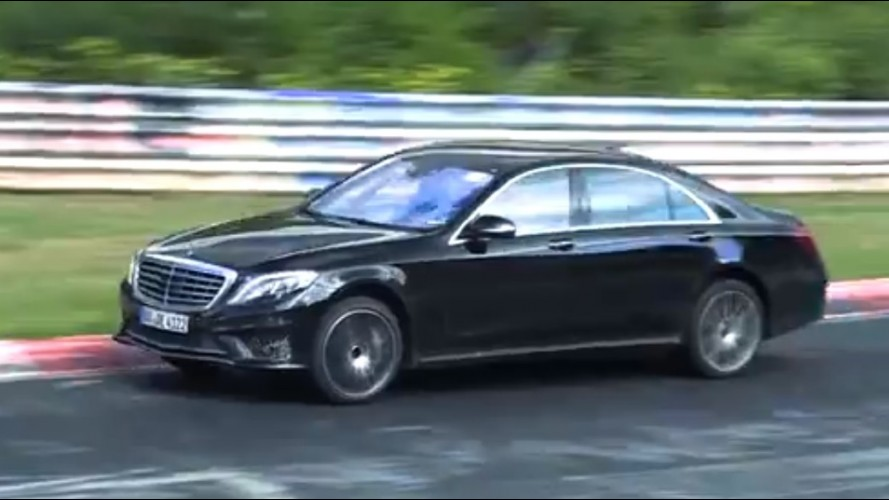 Vídeo: Mercedes Classe S 65 AMG é flagrado em movimento