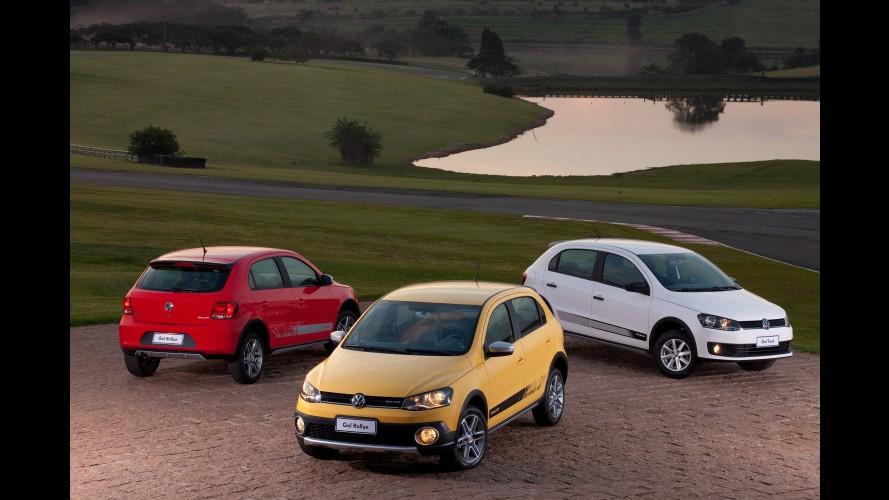 "Volta rápida: VW Gol Track é mais ""aventureiro"" que o Rallye"