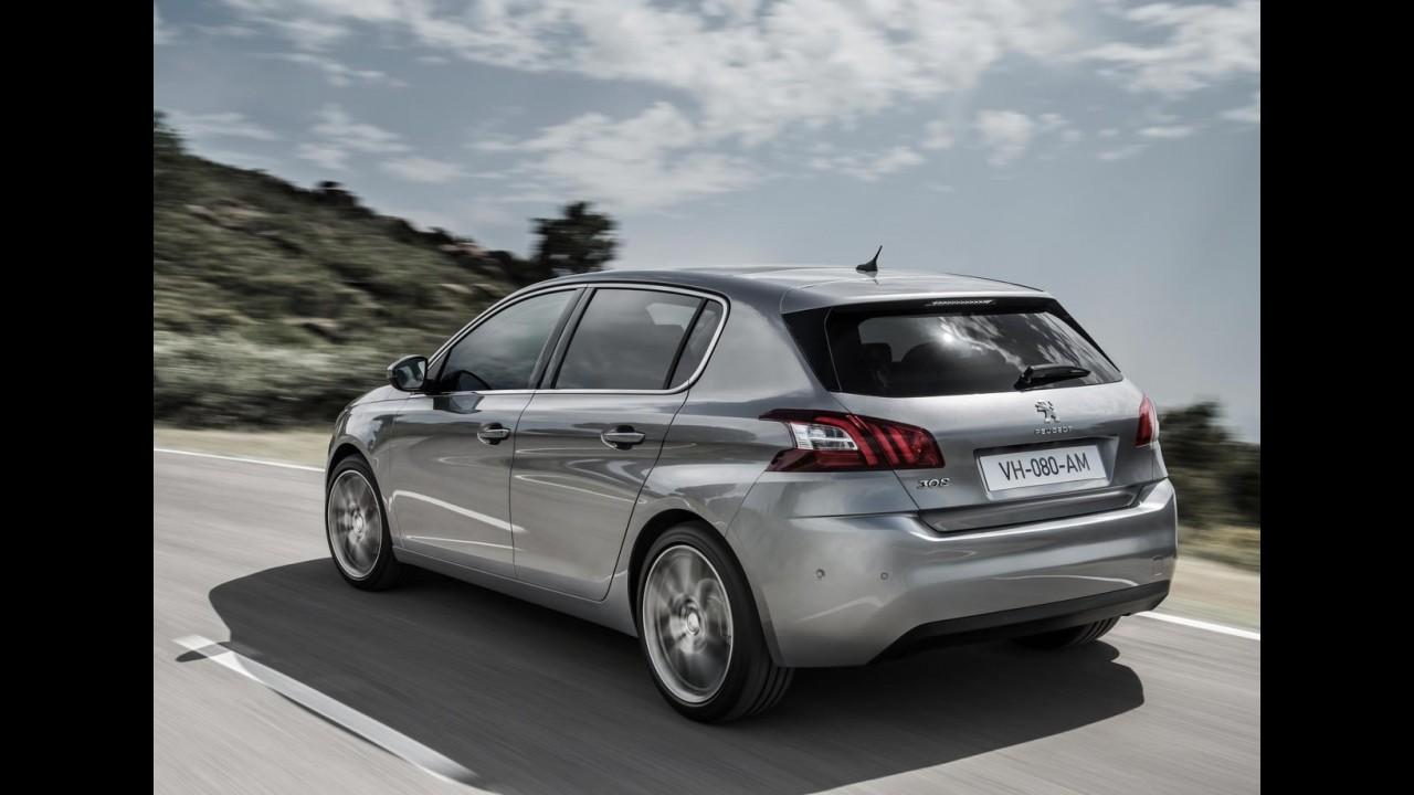 Galeria: novo Peugeot 308 2014 tem recheio tecnológico generoso