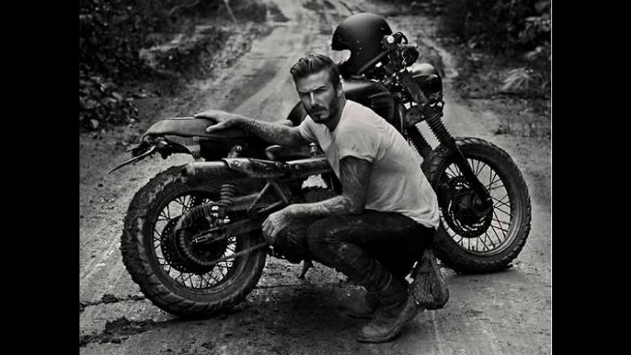 "Galeria: a Triumph ""Scrambler"" de  David Beckham no Brasil"
