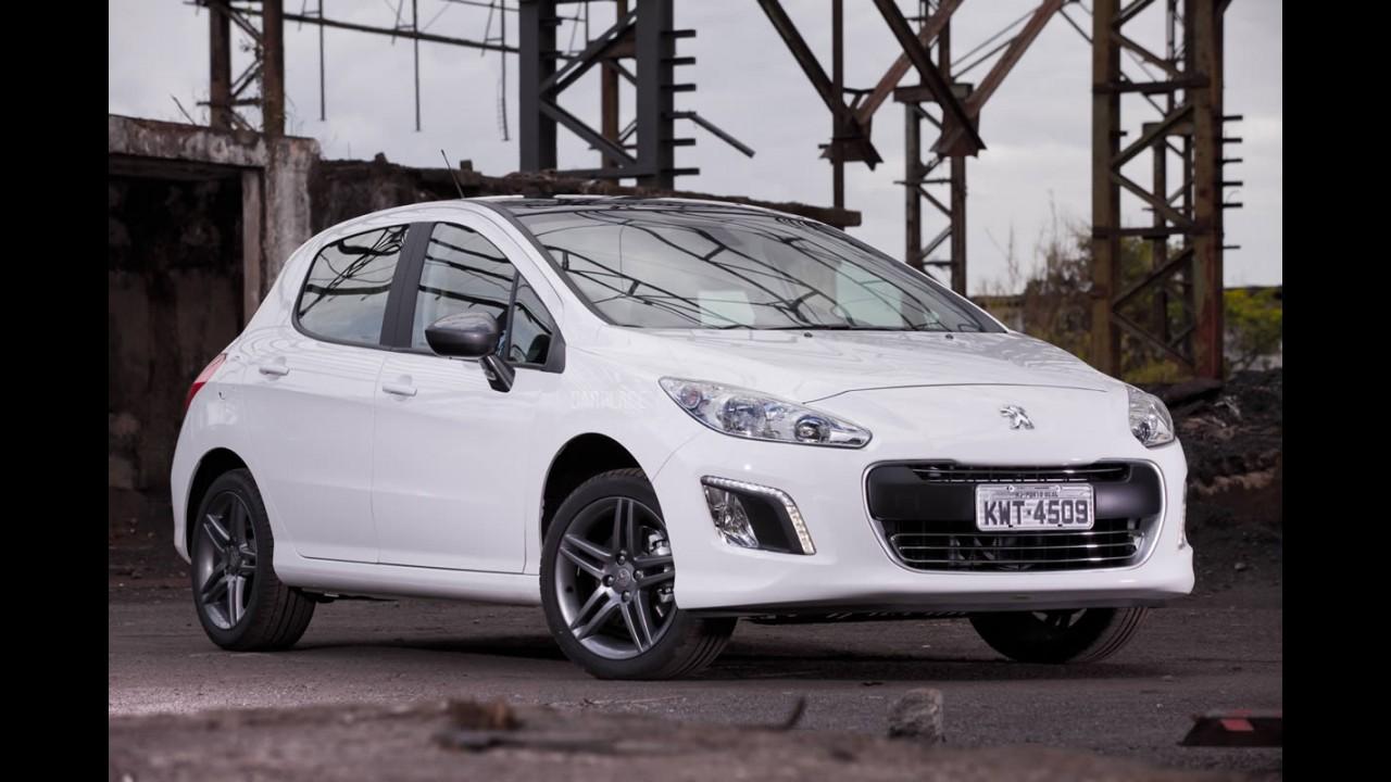 Versão topo de linha da gama, Peugeot 308 THP tem preço sugerido de R$ 73.990
