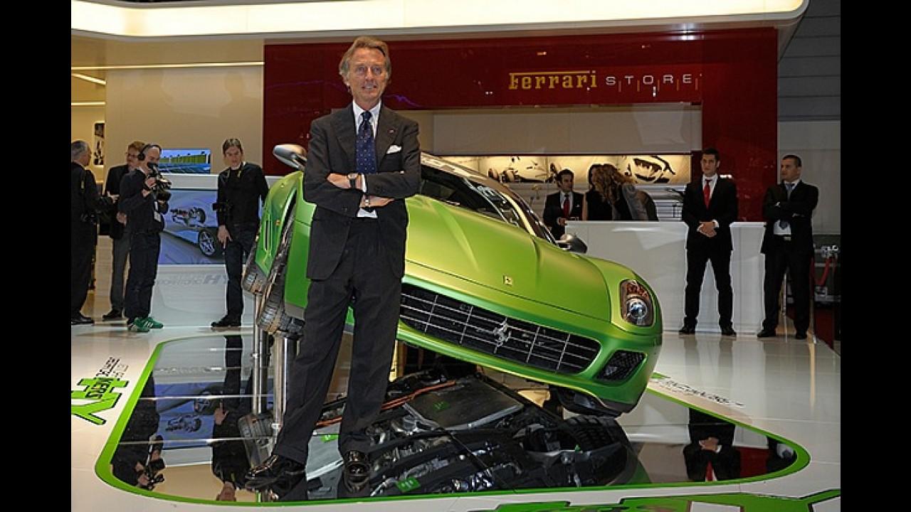 Ferrari não acredita nos elétricos