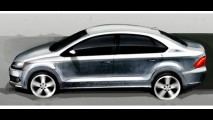 Surgem esboços do Novo Polo Sedan - Modelo chega ao Brasil em 2011